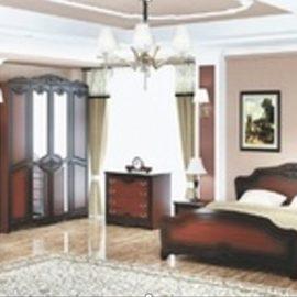 Лакированный спальный гарнитур ЛОТОС