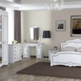 Спальный гарнитур ЛОТОС (ЛАК-Белый жемчуг)