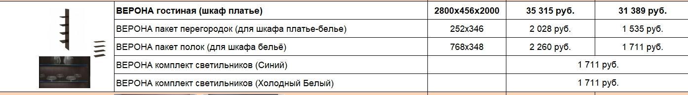 """Гостиная """"Верона"""""""