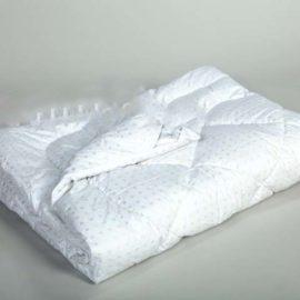 Одеяло 1,5 сп.Леб/пух тик